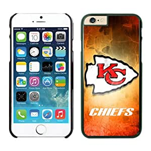 Kansas City Chiefs iPhone 6 Plus NFL Cases 15 Black 5.5 Inches NIC12734