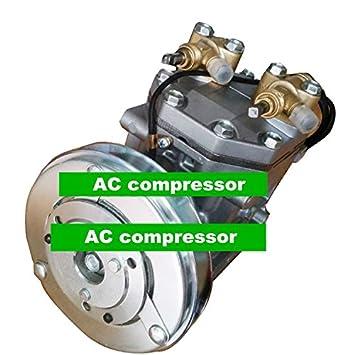 GOWE compresor de aire acondicionado para coche Mitsubishi Fuso Fighter camión OEM fk337d553073 aca200 a007 a me121066: Amazon.es: Bricolaje y herramientas