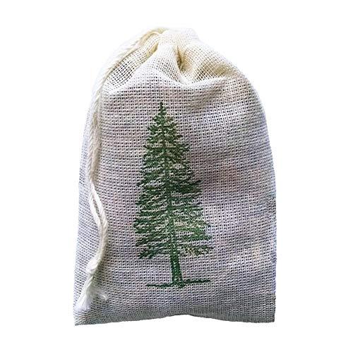 Evergreen Bag - Evergreen Pine Sachet - 3 Pack for Closet, garment bag or Drawer