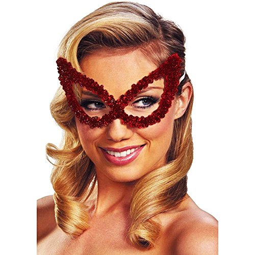 Disguise Costumes Sequin Mask Bright