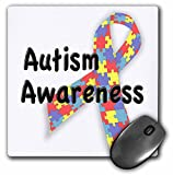 3dRose LLC 8 x 8 x 0.25 Inches Mouse Pad, Autism Awareness Autism Speaks (mp_113704_1)