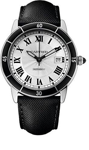 Cartier Ronde Croisiere de Cartier Reloj para Hombres wsrn0002: Amazon.es: Relojes