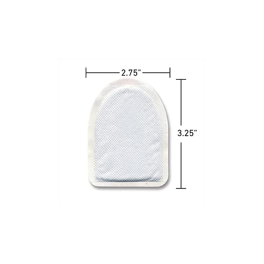 HotHands 30PK Toe Warmers, White