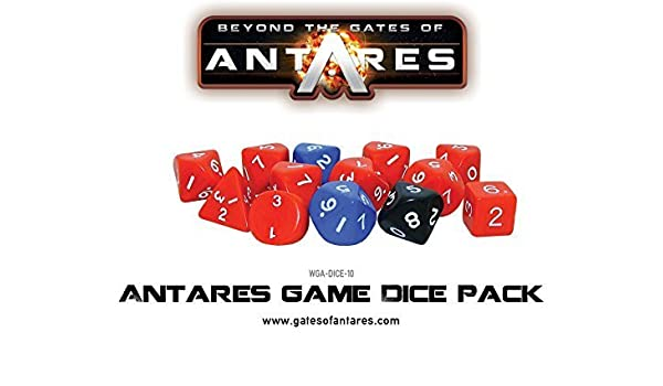 Beyond The Gates Of Antares, Antares Game Dice Pack by Gates of Antares: Amazon.es: Juguetes y juegos