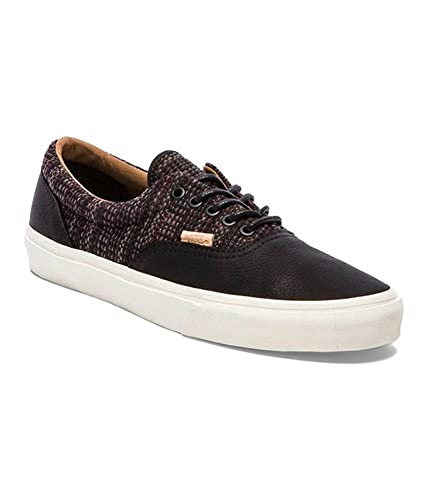 193806caf6 Image Unavailable. Image not available for. Color  Vans Mens Era Ca Italian  Weave Comfort Oxfords Mens Skateboarding Shoes ...