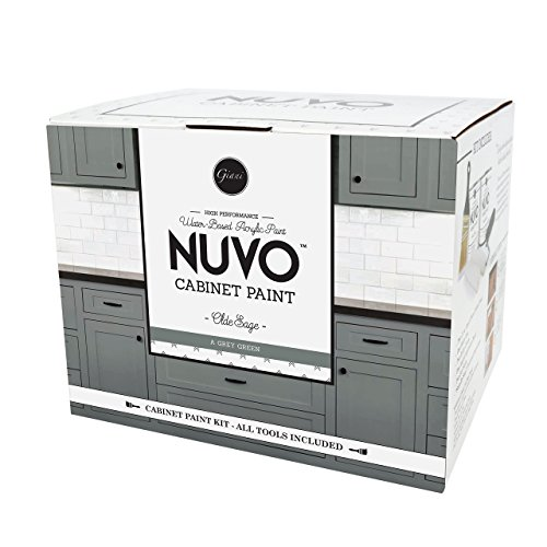 Nuvo Olde Sage 1 Day Cabinet Makeover Kit (Best Paint For Wood Cabinets)