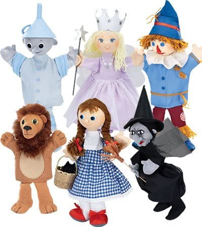 HearthSong Peter Pan Costumed Hand Puppets Special Set of 6
