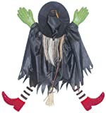 Sunstar Industries Tree Trunk Witch W/Red Shoes