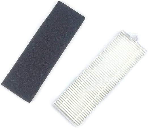 Gugutogo Filtro Hepa + Filtro de algodón para Ecovas A7 A9 para Ilife A6 A4 A4S Aspiradora Filtros de Polvo Piezas de Limpieza: Amazon.es: Hogar