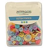 Botones Galore Botón Bonanza, Sherbet, 1