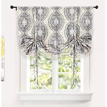 Amazon Com Thermalogic Trellis Cotton Curtains Tie Up