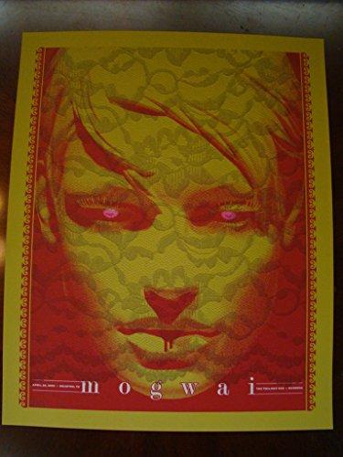 Mogwai Music Poster Mogwai Slater 2009