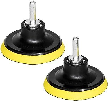 """5/"""" Hook and Loop Backing Pad Orbital Sander Polishing Pad M10 Drill Adapter 2pcs"""