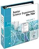 Junior Science Experiments on File, Aviva Ebner, 0816052816