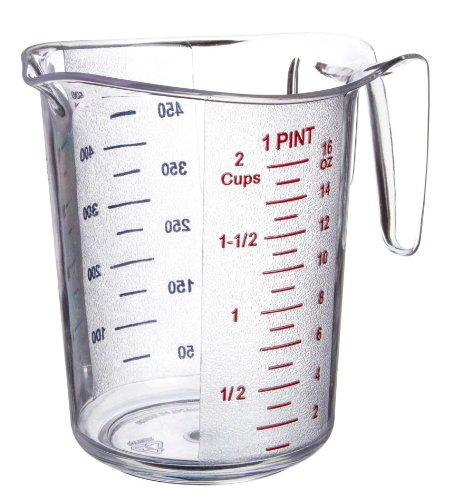 plastic 2 cup measuring cup - 2