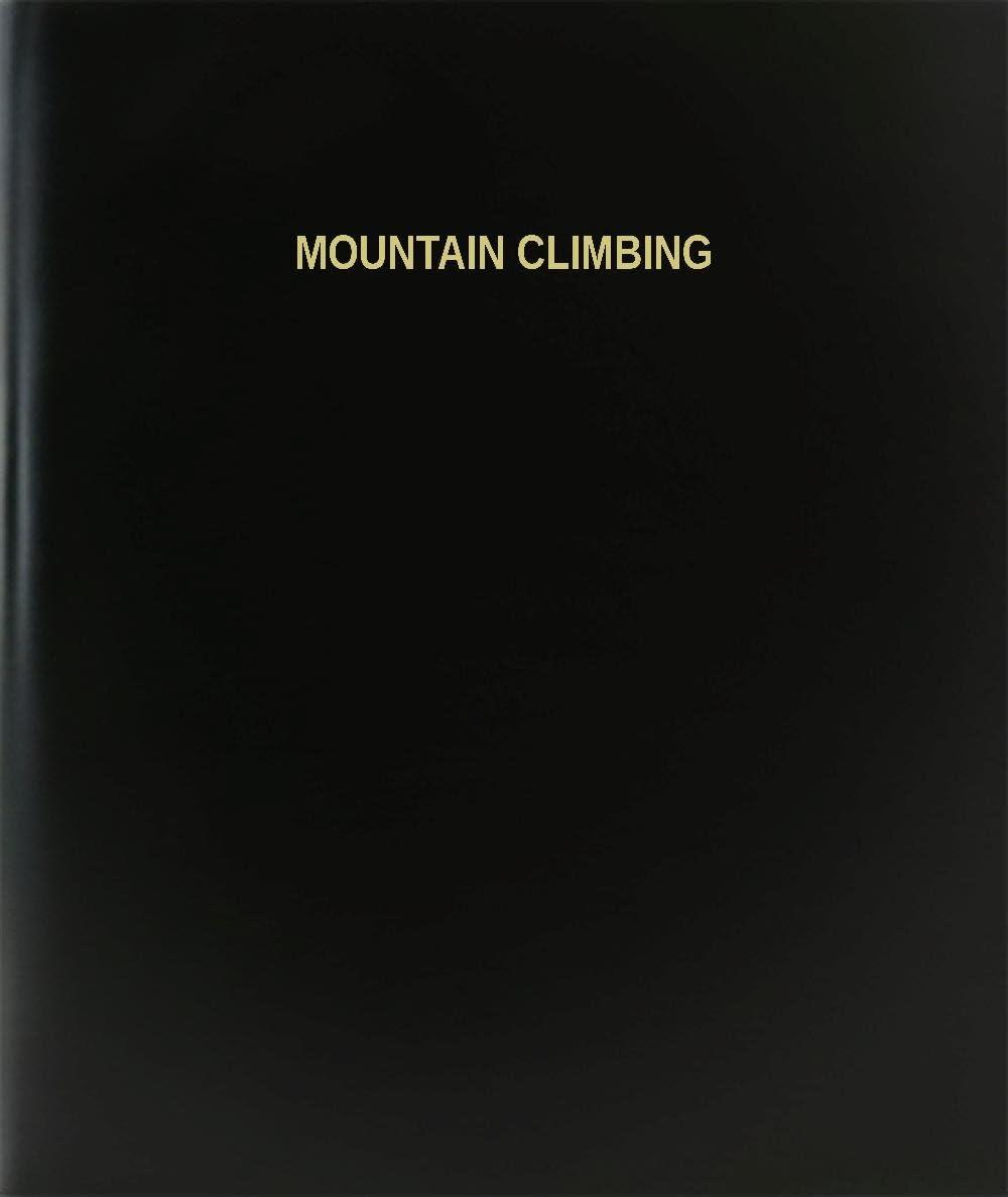 BookFactory® Montaña Escalada libro de registro/diario/diario ...