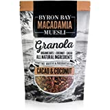 Byron Bay Organic Cacao and Coconut Granola, 400 g