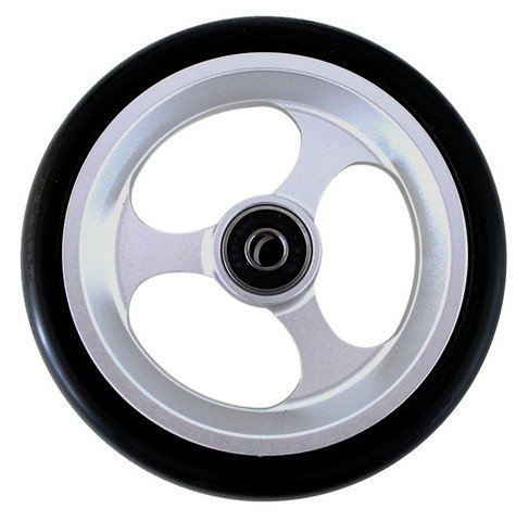 New Solutions CW505 5 x 1 in. Aluminum Caster with 0.32 in. Bearings with Black Tire Wheelchair