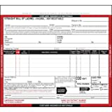 Hazardous Materials Straight Bill of Lading - Snap-Out, 3-Ply w/ Carbon, 8-1/2'' x 7'' (Qty: 500 Units)
