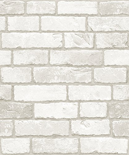 Vintage Brick Pattern Interior Film Self-Adhesive Peel-Stick Prepasted Wallpaper ()