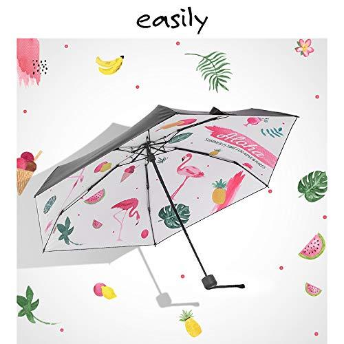 日傘 折りたたみ傘 18cm 超軽量 5段 晴雨兼用 UVカット 黒 遮光 遮熱 折り畳み日傘 女優日傘 美白対策 収納袋 ギフト 中元 夏 海の日 B07RTQJB1P
