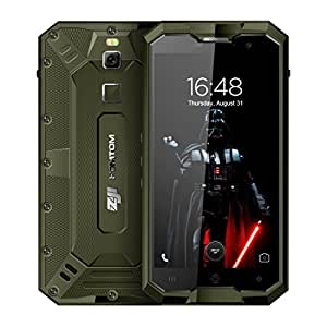 HOMTOM ZOJI Z8 Triple Proofing Phone 4GB+64GB 5.0 inch Android 7.0 MTK6750 Octa Core up to 1.5GHz WCDMA & GSM & FDD-LTE (Black)