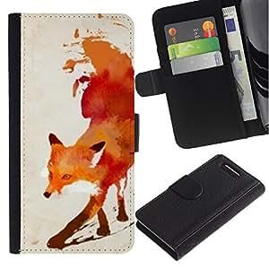 TaiTech / - Rouge Blanc Aquarelle Art - Sony Xperia Z1 Compact D5503