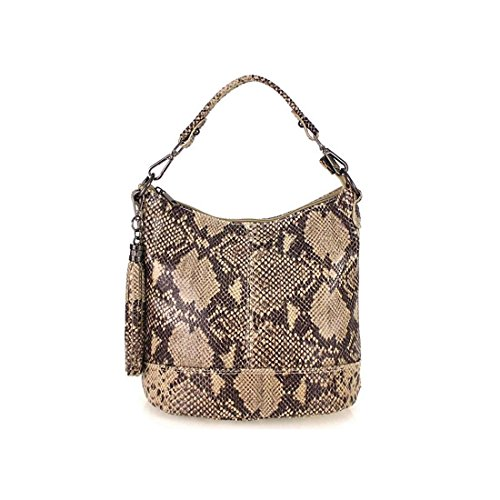 Italyshop24.com - Cloth Bag Woman Blue Dark Blue Ca .: 26x27x15 Cm (bxhxt) Brown