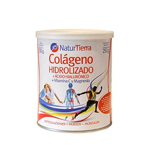 Colágeno Hidrolizado con Magnesio NaturTierra 250 gr: Amazon.es: Salud y cuidado personal