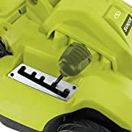 Sun Joe MJ506E 16 in 6.5 Amp Quad Wheel 24 Blade Electric Reel Lawn Mower w/ Grass Catcher 8 ✅ ELECTRIC REEL MOWER: Power 6.5-amp motor cuts a crisp 16 in. wide path ✅ ADJUSTABLE: 5-position manual adjustment allows for cutting heights: 1 in. - 2.6 in. (25 mm - 65 mm) ✅ STEEL RAZORS: Each of the 24 steel razors are designed to lift trim your grass to ensure the perfect, precise cut every time