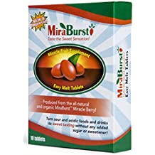 MiraBurst EASY-MELT Miracle Berry Fruit Tablets (10 Count)