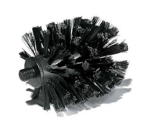 Plastique Noir Opaque 11,3 x 11,3 x 44,3 cm Koziol 5010526 Brosse WC