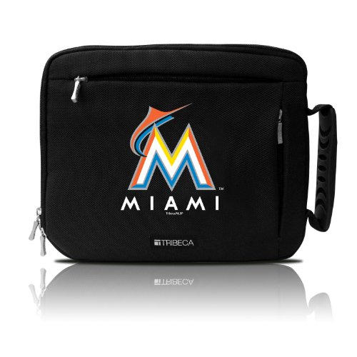 Tribeca Gear Deluxe Sleeve for Tablet, Miami Marlins, Black - Miami Wetsuit