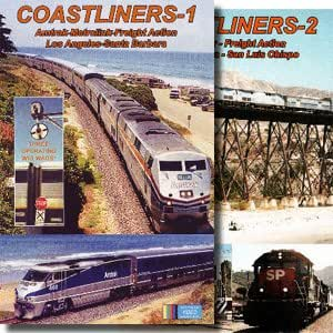 Coastliners, 2 Volume Set, Los Angeles to Santa Barbara - San Luis Obispo