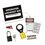 Brady LK432E, 45598 Operator Lockout Tagout Kit, 3 Kits