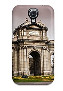 Hot Puerta De Alcal?? First Grade Tpu Phone Case For Galaxy S4 Case Cover