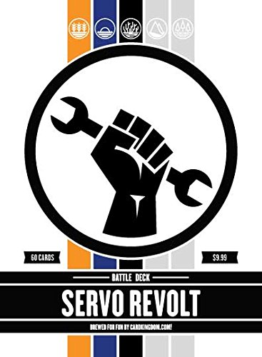 Servo Revolt Battle Deck. Magic the Gathering Preconstructed Deck. 60 cards. ()