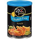 4C Gluten Free Plain Crumbs 12 oz. (Pack of 3)