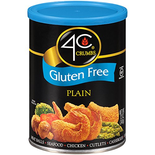 4C Gluten Free Plain Crumbs 12 oz. (Pack of 3)