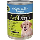AvoDerm Natural Chicken and Rice Formula Puppy Food, 13-Ounce Cans