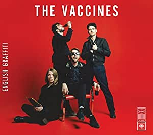 Vaccines English Graffiti Deluxe Edition By Vaccines