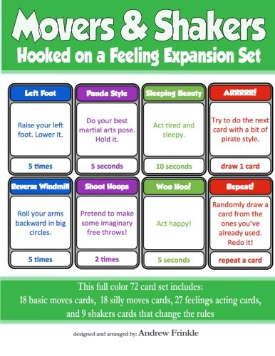 Download Movers & Shakers: Hooked on a Feeling Expansion Pack (Movers & Shakers Cards) (Volume 2) pdf