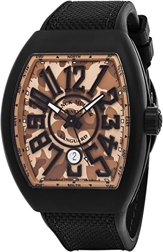 franck-muller-vanguard-mens-automatic-date-beige-camouflage-face-black-rubber-strap-watch-v-45-sc-dt