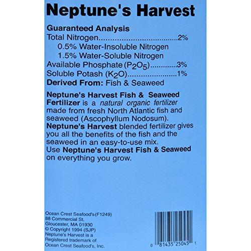 Neptune's Harvest Fish & Seaweed Blend Fertilizer 2-3-1 45lb by Neptune's Harvest (Image #1)