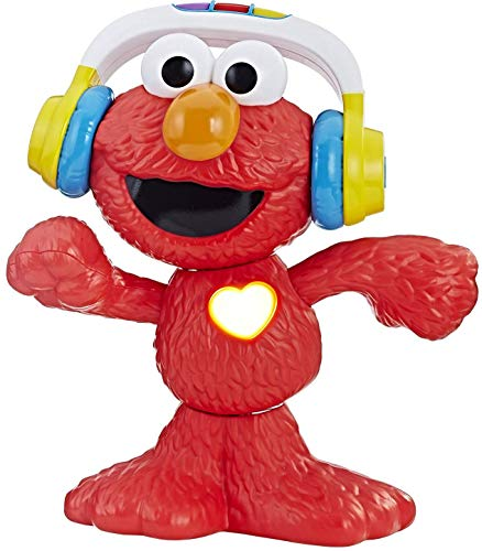 Sesame Street Let's Dance Elmo: 12-inch Elmo Toy that Sings and Dances, With 3 Musical Modes, Sesame Street Toy for Kids Ages 18 Months and Up