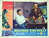 Machine Gun Kelly 1958 Authentic, Original Charles Bronson Gangster 11x14 Lobby Card #8 Movie Poster