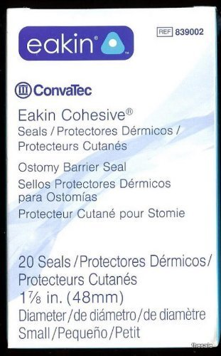 Convatec EAKIN® #839002 Ostomy Seals 48mm (Fresh Stock)
