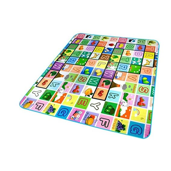 Gion Waterproof Baby Room Decor Floor Rugs & Carpet Anti Skid, Double Sided Baby Crawling Mat, 4 x 6 Feet