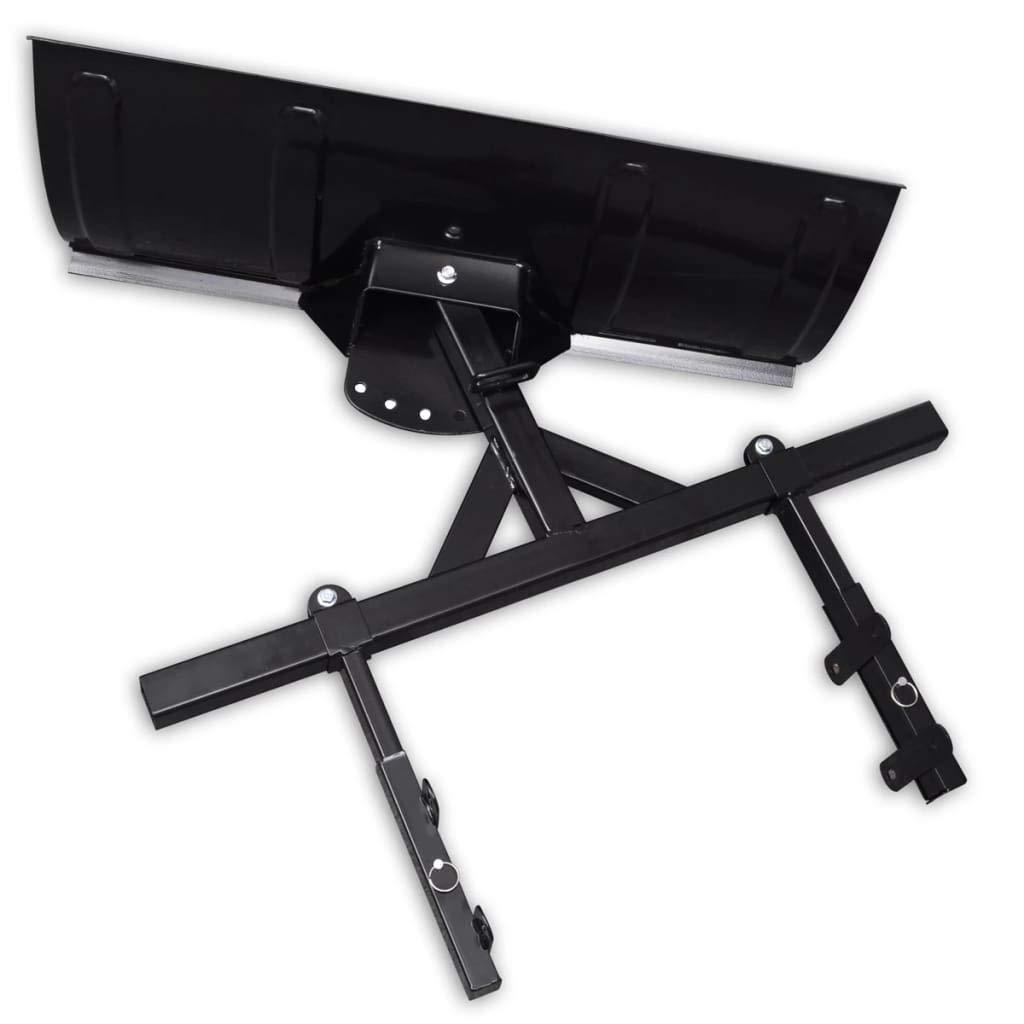 Zora Walter Hoja quitanieves para Lanzador de Nieve 80 x 44 cm Apto para la mayor/ía de estructuras de quads