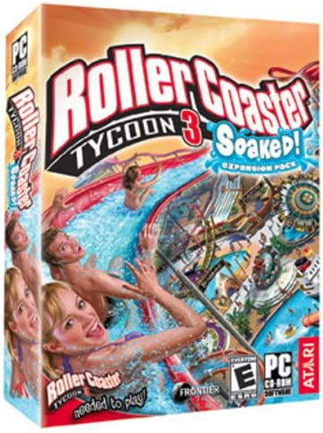 Rollercoaster Tycoon 3: Soaked! Expansion - PC: Video     - Amazon com